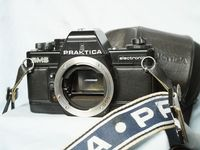 Praktica BMS 35mm SLR Camera  c/w Wide Strap + Case -Nice Set-
